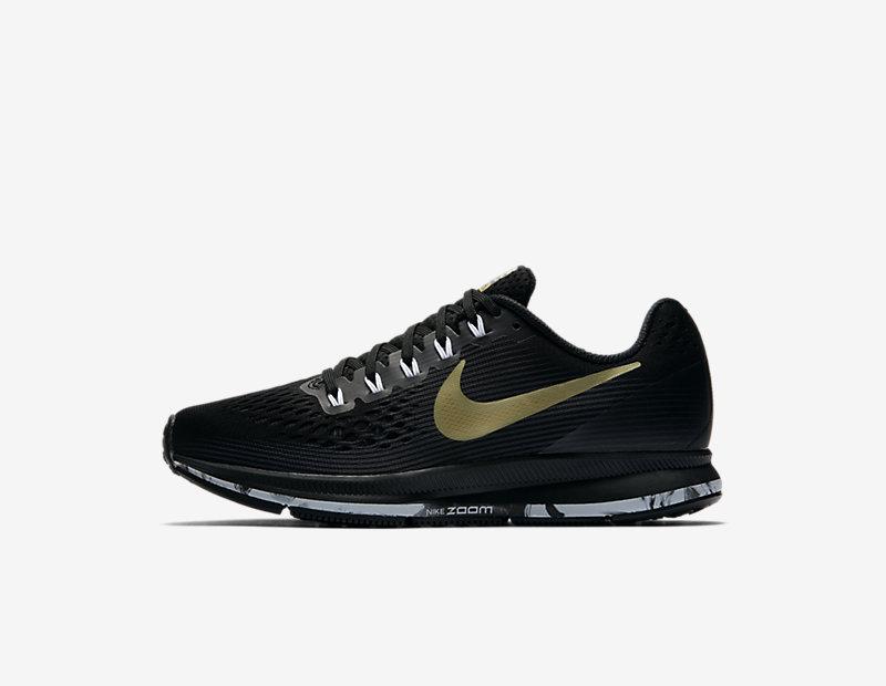 Nike Air Zoom Pegasus 34 Women's Running Shoe - Black