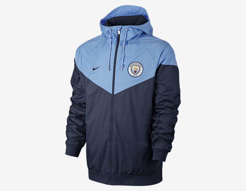 Manchester City FC Authentic Windrunner