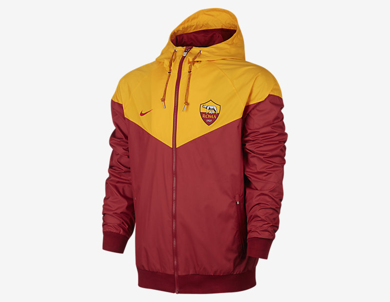 A.S. Roma Authentic Windrunner