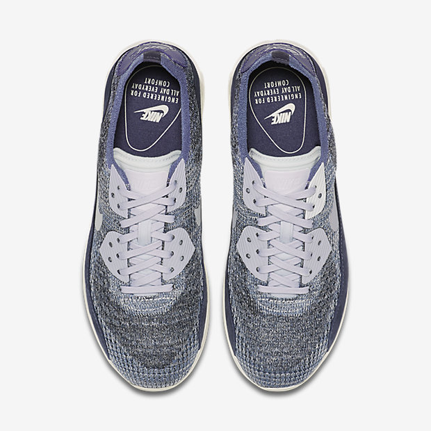 detailed look 69572 4ce72 ... White – Pure Platinum Nike Air Max 90 Ultra 2.0 Flyknit PNCL Women s  Shoe.