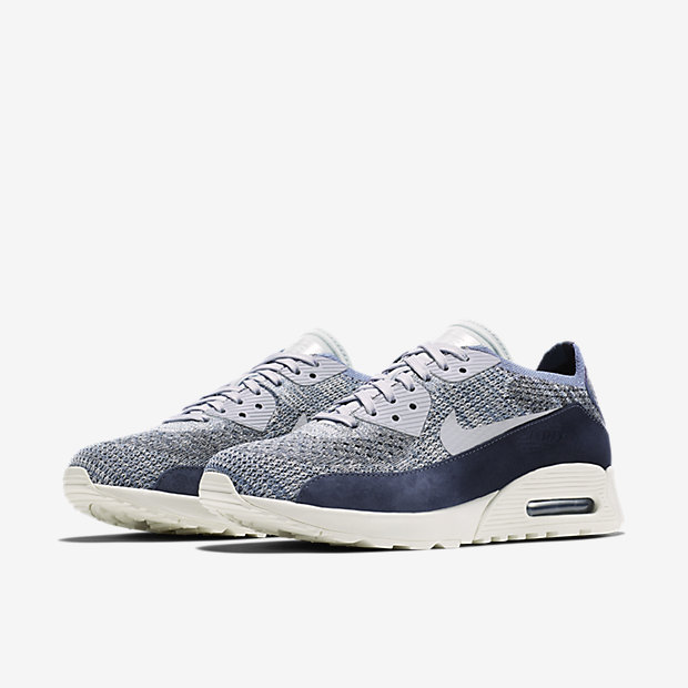 sports shoes c10d9 23bf0 ... Chaussure Nike Air Max 90 Ultra 2.0 Flyknit PNCL pour Femme