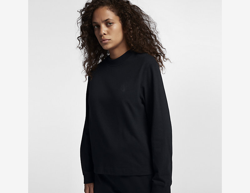 NikeLab Essentials Long-Sleeve Mock Neck