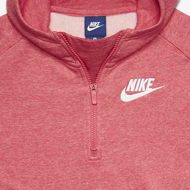 Beliebt Pull poncho demi-zippé Nike Sportswear pour Fille plus âgée. Nike  MP33