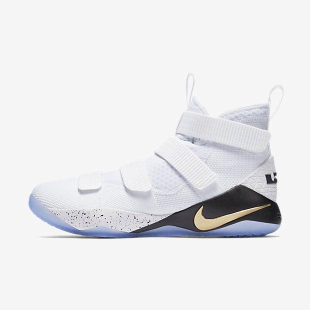 596a77ca09fa LeBron Soldier XI Basketball Shoe. Nike.com SE
