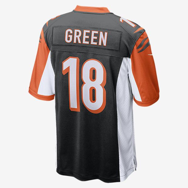 d24885c2 NFL Cincinnati Bengals Game (A.J. Green) Men's American Football Jersey