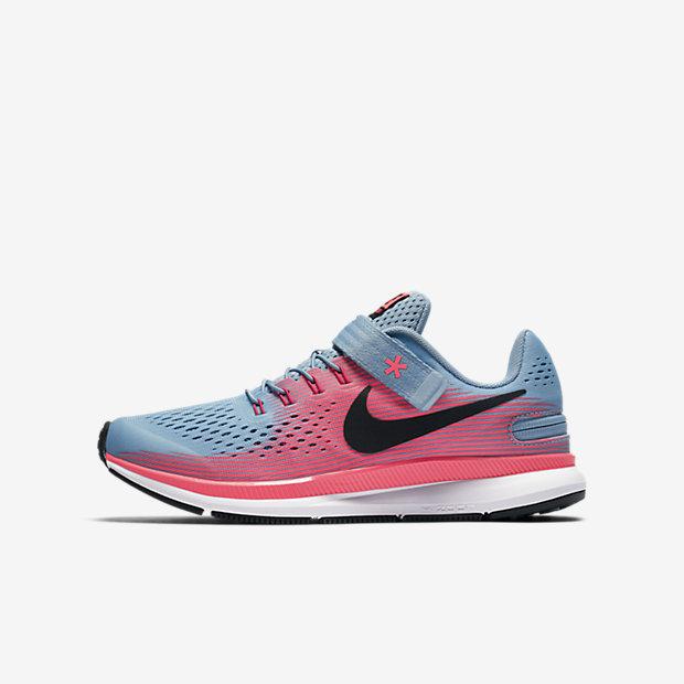 Nike Free   Kids Running Shoe Fuchcia