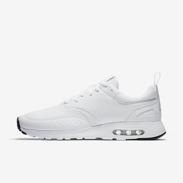 Nike Air Max Chaussures Vision Baskets Lo Blanc Noir Blanc Gris Noir XSIXai