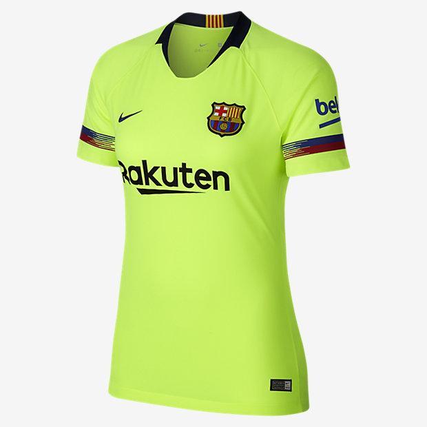 2018 19 FC Barcelona Stadium Away Camiseta de fútbol - Mujer. Nike.com ES 07aaa66c819