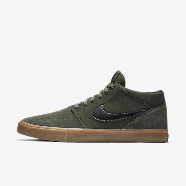 Low Resolution Nike SB Solarsoft Portmore II Mid Men's Skateboarding Shoe