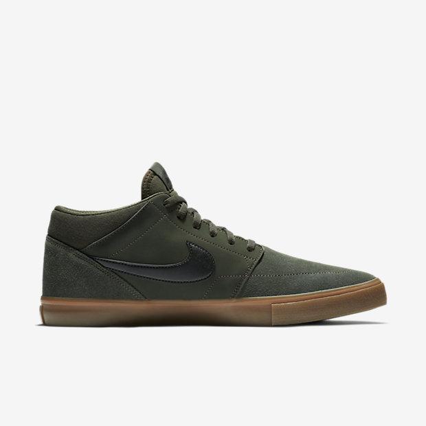 Neue Stile Nike SB Solarsoft Portmore II Mid Schuhe