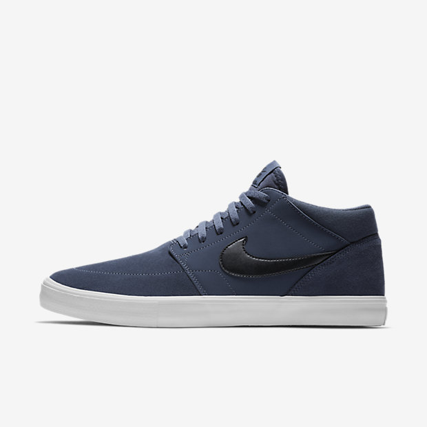 nike sb solarsoft portmore ii mid men 39 s skateboarding shoe za. Black Bedroom Furniture Sets. Home Design Ideas