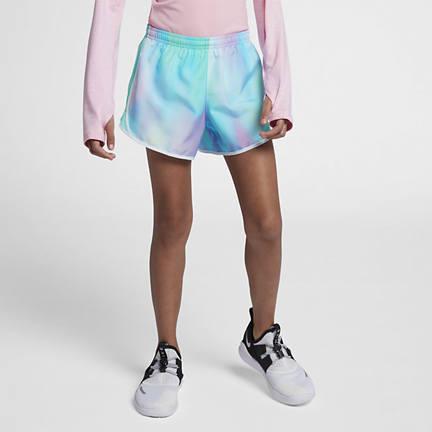 Low Resolution Nike Tempo Older Kids' (Girls') Printed Running Shorts