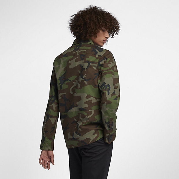 Naked silhouette camo fabric