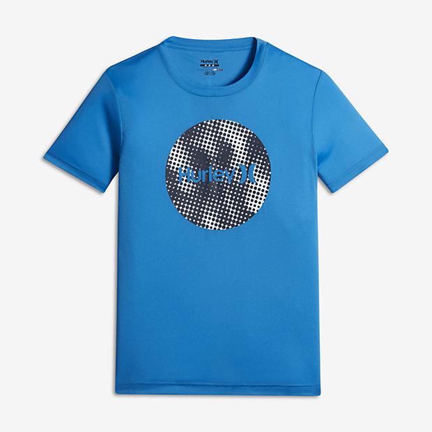 Hurley sun protection krush big kids 39 boys 39 t shirt for Sun protection t shirts