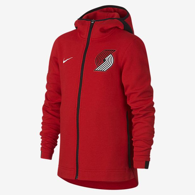 Portland Trail Blazers Nike Dry Showtime Big Kidsu0026#39; NBA Hoodie. Nike.com
