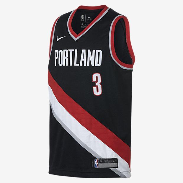 Portland Trail Blazers Jersey Nike: CJ McCollum Portland Trail Blazers Nike Icon Edition