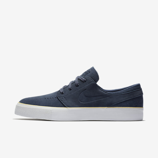 Nike SB Zoom Stefan Janoski Leather Men's Skateboarding Shoes Black oR8702S