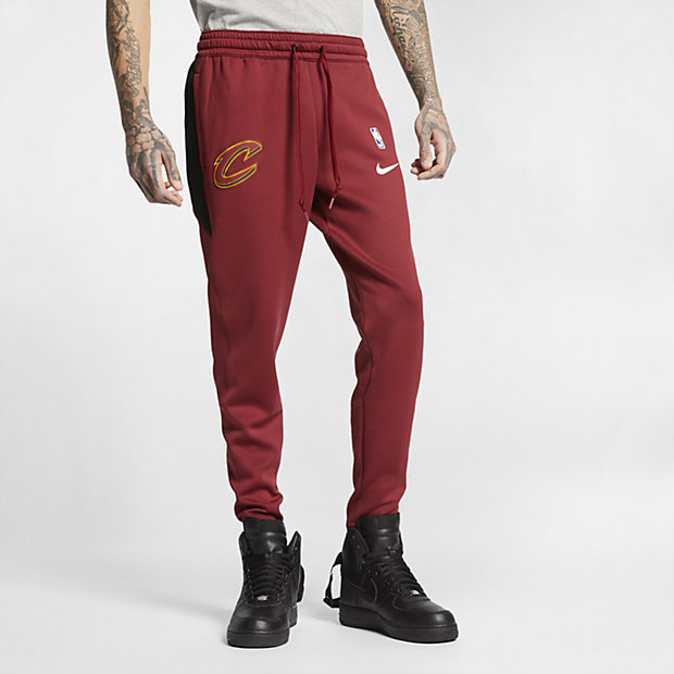 Low Resolution Cleveland Cavaliers Nike Therma Flex Showtime 男款 NBA 運動褲