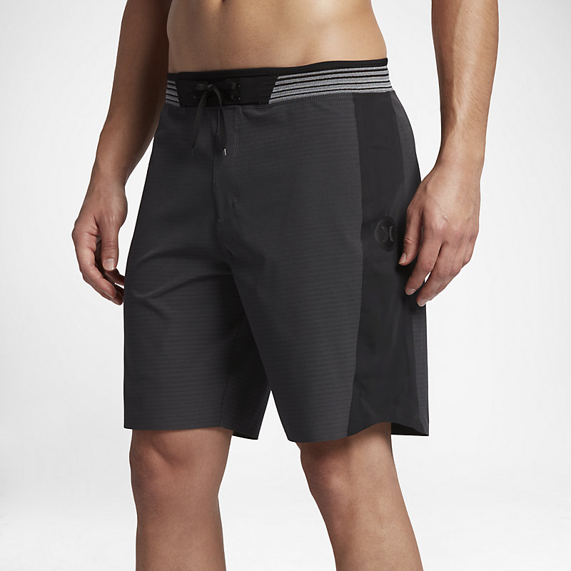 Hurley Phantom Hyperweave Motion Stripe Elite Black Male Herre > Klær > Shorts 28| 30| 31| 32| 33| 34| 36