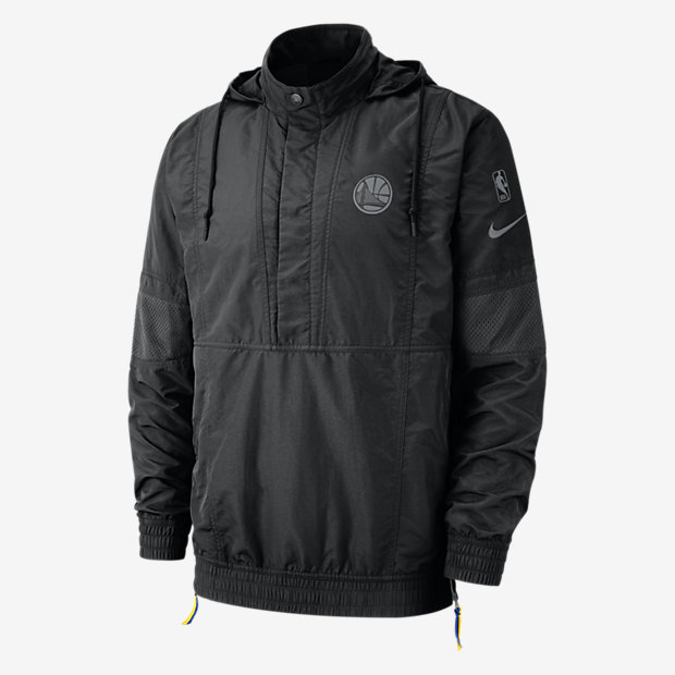 Low Resolution Golden State Warriors Nike Courtside Men's Hooded NBA Jacket