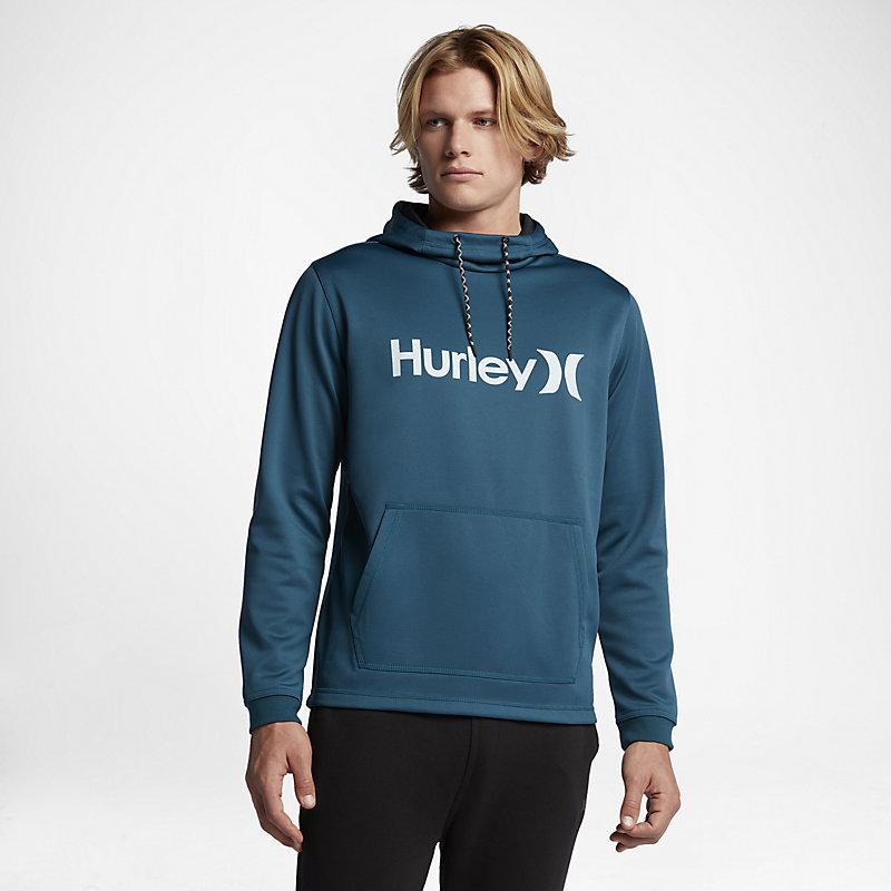 Hurley Therma Protect Pullover Space Blue Male Herre > Klær > Hettegensere & Treningsgensere > Hettegensere S| M| L| XL