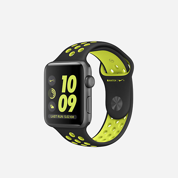 Low Resolution Apple Watch Nike+ Series 2 (42mm) Open Box Laufuhr