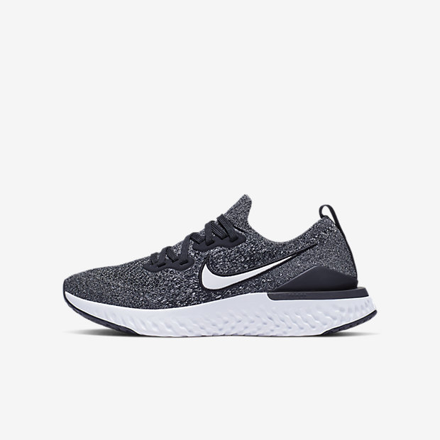 Low Resolution Nike Epic React Flyknit 2 løpesko til store barn