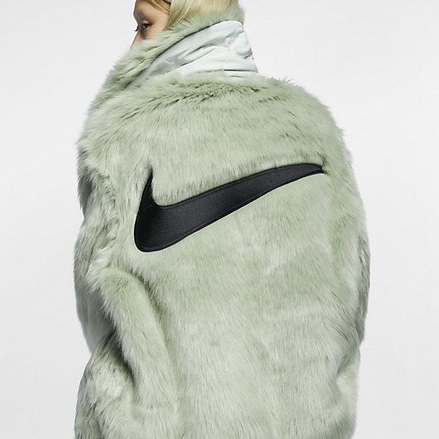 Femme Pour Fourrure X Fausse En Ambush Nike Réversible Manteau tn0fw8Aqgx