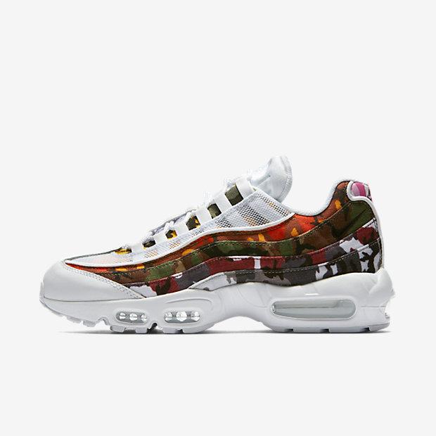 Мужские кроссовки Nike Air Max 95 OG MC SP, Белый/Мультиколор, Артикул: AR4473-100  - купить со скидкой