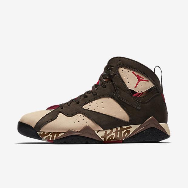 Chaussure Air Jordan x Patta 7 Retro pour Homme