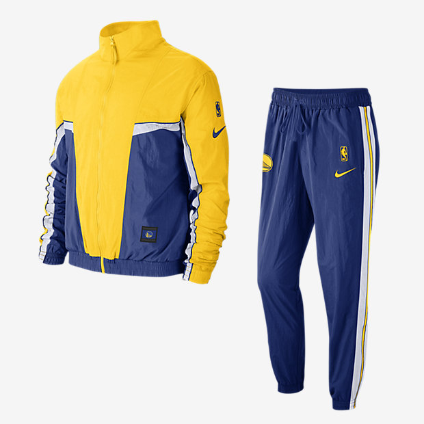 Low Resolution Golden State Warriors Courtside Men's Nike NBA Tracksuit