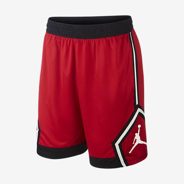 Low Resolution Stribede Jordan Jumpman Diamond-basketballshorts til mænd