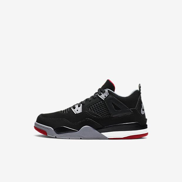 Calzado para niños talla pequeña Jordan 4 Retro