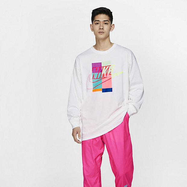 Nike x atmos langermet T-skjorte til herre