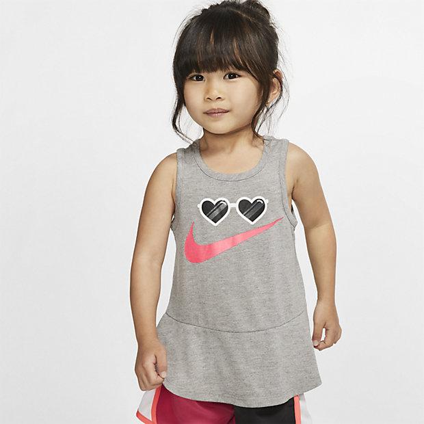 Nike ujjatlan felső babáknak