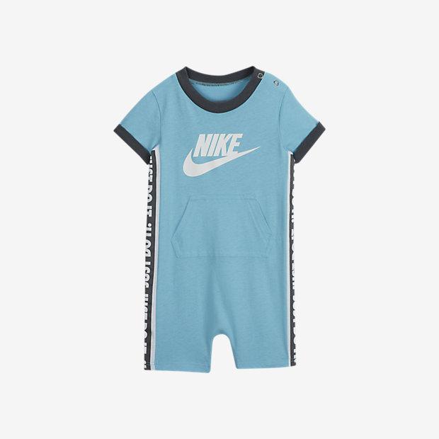 Romper med tryck Nike JDI för baby (0-9 mån)