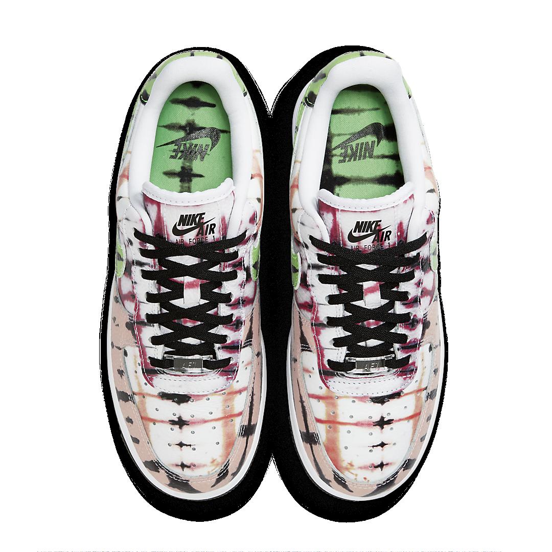 Nike Air Force 1 'Black Tie-Dye' CW1267-101
