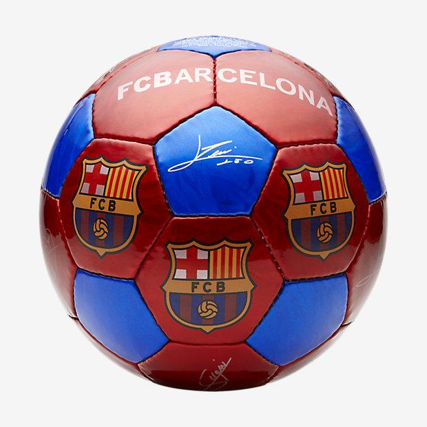 Low Resolution FC Barcelona Fußball (Größe L)