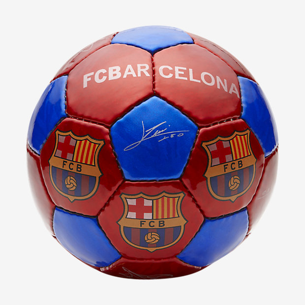 Low Resolution Ballon de football de taille moyenne FC Barcelona