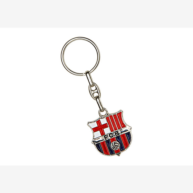 Low Resolution FC Barcelona Plated Crest Key Chain