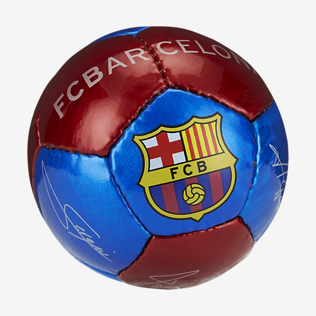 782fabfcb52 Bola de futebol mini FC Barcelona. Nike.com PT