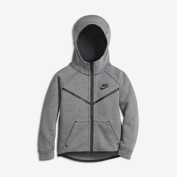 Nike Sportswear Tech Fleece Younger Kids' (Boys') Hoodie
