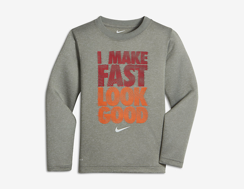 "Nike ""I Make Fast Look Good"""