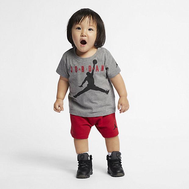 Tvådelat set Jordan Jumpman Air för baby (12-24 mån)