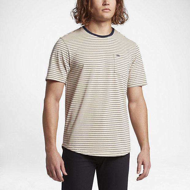 Hurley Dri-FIT Breakline Men's T-Shirts Oatmeal/Cream