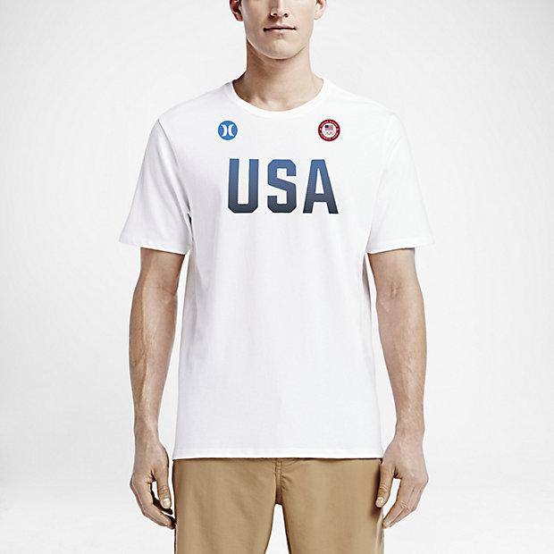Nike Mens T-Shirt - Nike Hurley Icon Dri-FIT White H94q1651