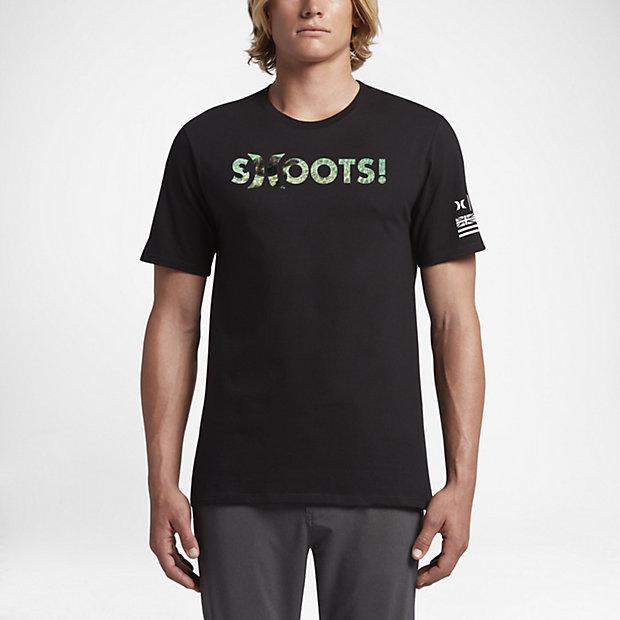 ... Hurley Clark Little Honu Shoots Men's T-Shirt