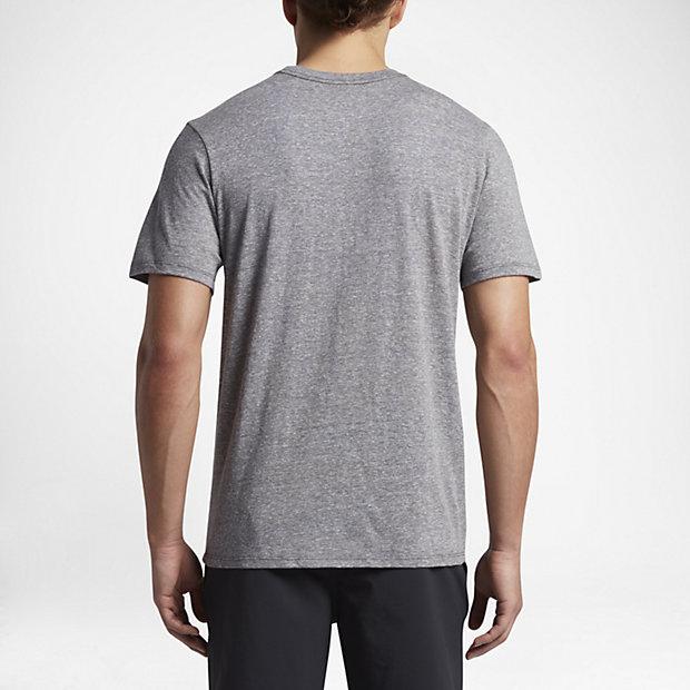 ... Hurley Dark Script Tri-Blend Men's T-Shirt