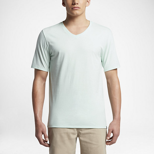 Men's T-Shirt. Hurley Staple V-Neck. $11.97. $20. Dark Grey Heather.  Obsidian Heather. White. Black. Sold Out. Cool Mint