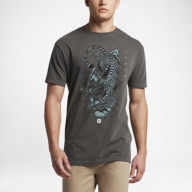 Low Resolution Hurley Tebori Tiger Explosion Men's T-Shirt